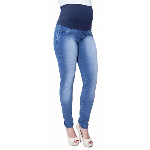 Calça Jeans Gestante Luna Skinny