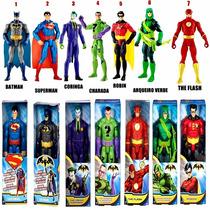 7 Boneco Liga Da Justiça 69,99 Cada Promoção Flash Superman