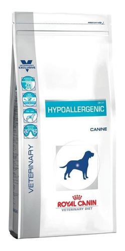 Ração Royal Canin Hypoallergenic Veterinary Diet Canine Cachorro Todos Os Tamanhos Mix 2kg