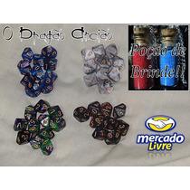 Kit 10 Dados D10 Para Rpg+bolsa+brinde Lobisomem Vampiro