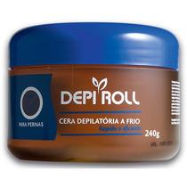 Cera Depilatória `a Frio Depi-roll 240 Gr