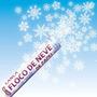 Lança Confetes Flocos De Neve 30cm