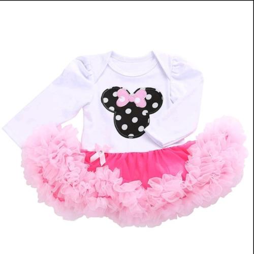 59952557cc Vestido Body Bebe Tutu Minnie Festa 1 E 2 Ano + Sapatinho à venda em ...