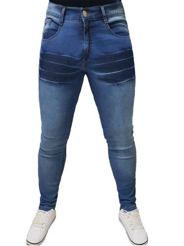 d9ce9eaaa6 Kit 8 Calças Jeans Masculina Luxo Skinny Slim Lycra Atacado