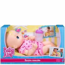 Boneca Baby Alive Recem Nascida /a5429 Hasbro