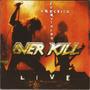 Cd Overkill - Wrecking Everything (live) - Imp - Lacrado Original