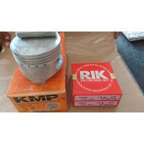 Pistao Cb 450/cbr 450 (kit 2 Pistao Kmp 2 Jg Aneis Rik 0,25