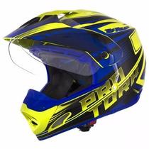 Capacete Pro Tork Th-1 Vision Adventure Motocross Trilha