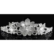 Tiara Coroa Headband Enfeite Cabelo Noiva Debutante Daminha