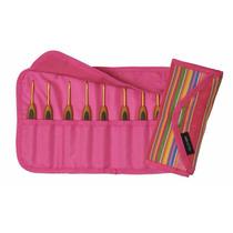 Agulha De Croche Clover Kit Com 8 Com Case, Nova, Importada