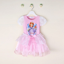 Vestido Infantil Princesa Sofia - Pronta Entrega