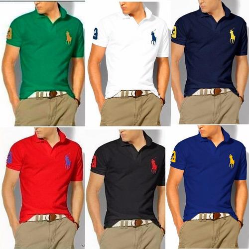 5b257f843496b Kit 8 Camisas Camisetas Gola Polo Masculina Atacado Barato