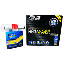 Kit Asus H61m-a/br Lga 1155 + Core I3 3250 + 8gb Hyperx Fury