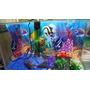 Aaquário Mundo Nemo E Dory 45x21x30 28,3 Lts 3 Mm Completo!