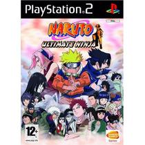 Patch Naruto Collection ( 5 Jogos ) Ps2 Frete Gratis