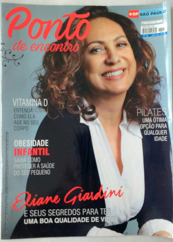 Rev Ponto De Encontro Eliane Giardini/ Vitamina D / Pilates