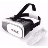 Óculos Vr Box 2.0 Realidade Virtual 3d Android Io Controle