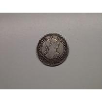 Moeda Mexico 1 Real 1782 -.f.f- Prata