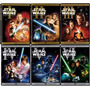 Dvds Star Wars - A Saga Completa - 6 Dvds