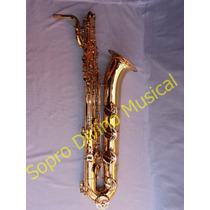 Saxofone Baritono La Grave E Pézinho Hoyden Hbs 25l