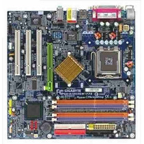 Kit Placa Mãe 775 Ddr1 Ga-8i865gm-775