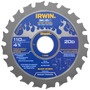 Serra Circular Para Madeira Weldtec 110mm X 20mm - Irwin