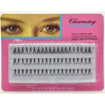 60 Cílios Tufinhos Maquiagem Cílios Postiços