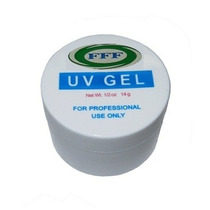 Gel Uv Acrygel Clear (transparente) Gel Construtor Unhas 15g