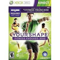 Your Shape Fitness Evolved 2012 Xbox360 Original Ótimo Estad