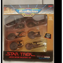 Jornada Nas Estrelas Enterprice Lote Naves Micro Machines