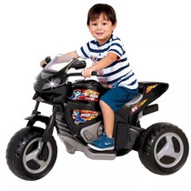 Mini Moto Eletrica Infantil Menino Max Turbo V6 Magic Toys