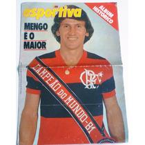 Revista Manchete Esportiva - Flamengo Campeão Mundial 81
