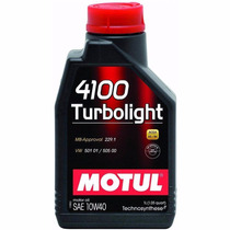 5 Litros Óleo Motul 4100 Turbo Light 10w40 Semi Sintético