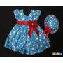 Vestido Galinha Pintadinha + Brinde : Chapéuzinho Azul