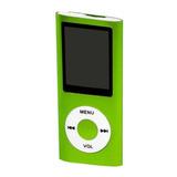 Mp3 Mp4 Player Slim Multimídia Stereo Rádiofm + Fone