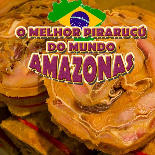 Charque De Pirarucu 20 Kg Amazonas Delicia Do Norte 100%