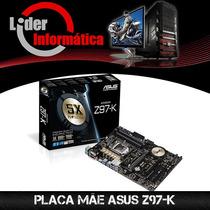 Placa Mãe Asus Z97-k + Intel Core I7 4790 + 16gb Corsar