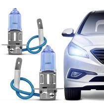 Lâmpada Super Branca H3 4300k Efeito Xenon Para Carro