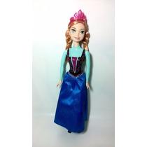 Boneca Princesa Disney Ana Frozen Original Da Mattel