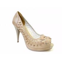 Sapato Peep Toe Feminina Dakota B2673 - Promoção