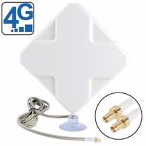Antena Externa Cabo 2m Para Modem 3g 4g Com Conector Ts9