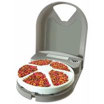 Comedouro Alimentador Automático Programável 5 Refeições