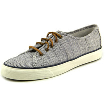 Sperry Top Sider Seacoast Cross-hatch Mulheres Canvas Sneake