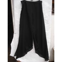 Pantalona Em Crepe Forrada Tam P