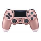 Controle Joystick Sem Fio Sony Dualshock 4 Rose Gold