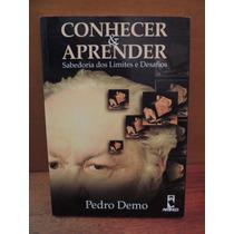 Livro Conhecer & Aprender Pedro Demo Sabedoria Limites