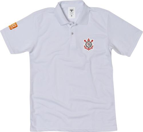 Blusa Polo Corinthians Camisa Gola Polo Torcedor Do Timão à venda em ... 9b679974be5e3