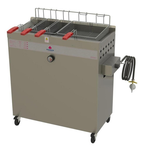 Fritadeira  Industrial Progás Pr-3000 Bpg Prata