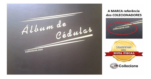 Nva- Album  P/200 Cédulas 50 Folhas Polipropileno 4 Argola