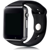 A1 Smartwatch Relógio C/chip Bluetooth Ios/android